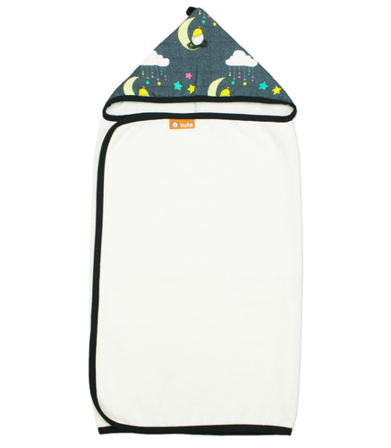 Under the Stars - Tula Hooded Towel - Baby Tula