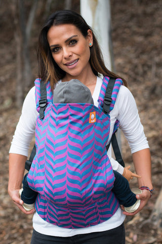 (Standard Size) Full Wrap Conversion Tula Baby Carrier - Migaloo Empowered - Baby Tula