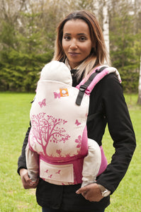 Half Toddler WC Carrier - Nova Vida Pink - Baby Tula