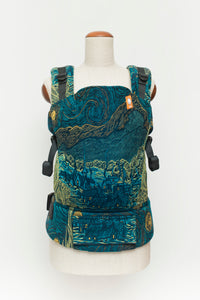 Full Standard Wrap Conversion Carrier - Natibaby Starry Night - Baby Tula