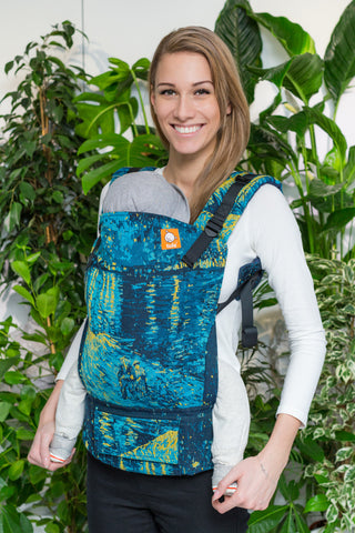 Half Standard Wrap Conversion Carrier - Starry Night Over the Rhone - Baby Tula