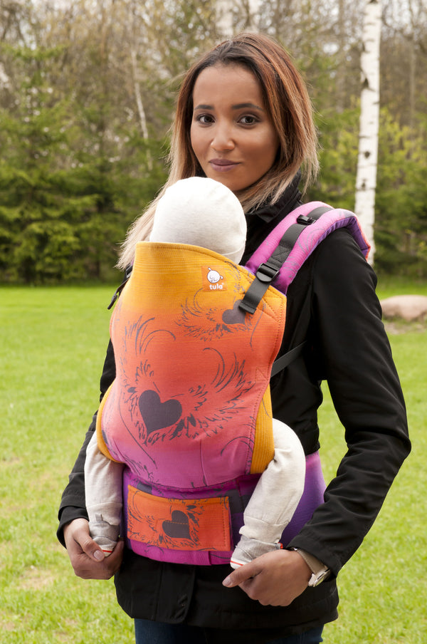 Half Toddler WC Carrier - Wings of Love - Baby Tula