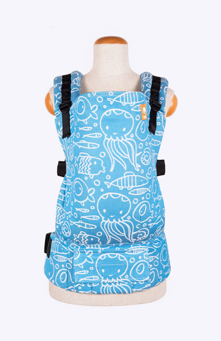 Tula Woven Odysey Dive - Tula Signature Baby Carrier