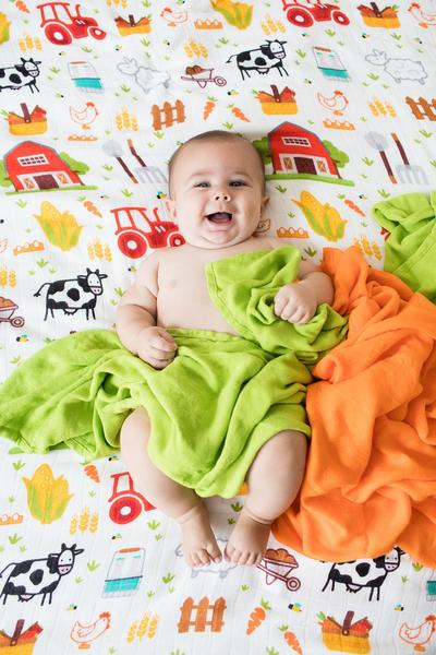 On The Farm - Tula Baby Blanket Set - Baby Tula