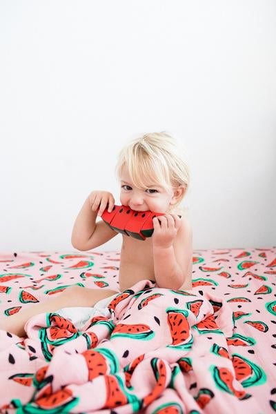 One in a Melon - Tula Cuddle Me Blanket - Baby Tula