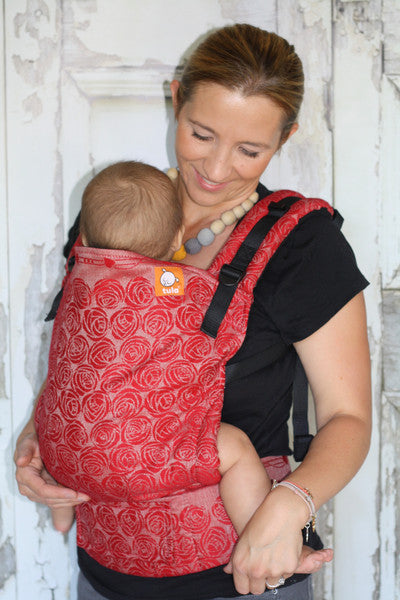 Half Toddler WC Carrier - Roses Aphrodite - Baby Tula