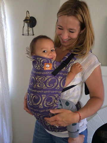 (Standard Size) Half Wrap Conversion Tula Baby Carrier - Oscha Eire Tollan - Baby Tula