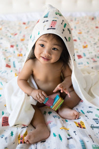 Out & About - Tula Hooded Towel - Baby Tula