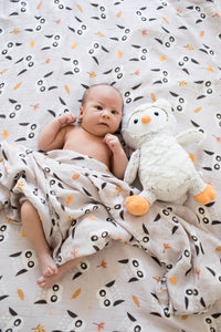 Owl We Need - Tula Cuddle Me Blanket - Baby Tula