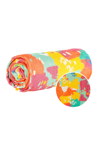 Paint Palette - Tula Cuddle Me Blanket