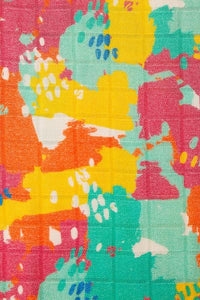 Paint Palette - Tula Cuddle Me Blanket - Baby Tula