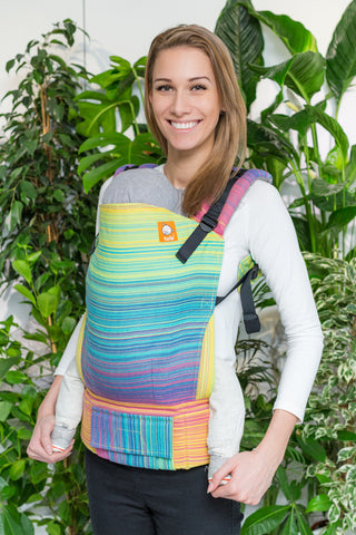 Half Toddler Wrap Conversion Carrier - Pastell Sunny - Baby Tula