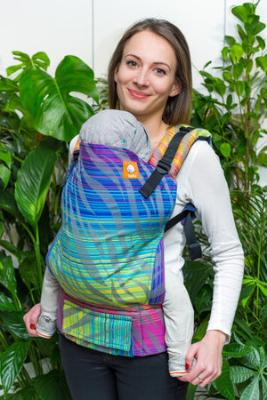 Half Toddler Wrap Conversion Carrier - Zamira Fall - Baby Tula