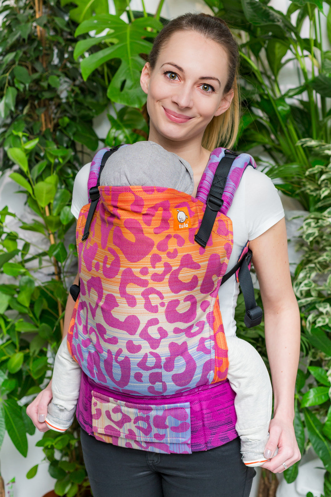 Half Toddler Wrap Conversion Carrier - Zoya Erica - Baby Tula