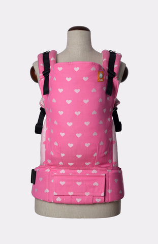 Full Toddler Wrap Conversion Carrier - Tula Petit Love Bloom