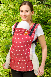 Full Toddler WC Carrier - Petit Love Fraise - Baby Tula