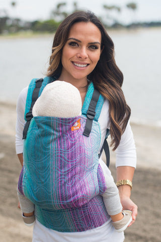(Standard Size) Full Wrap Conversion Tula Baby Carrier - TULA Poise Adventurer - Baby Tula