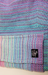 Apple Blossom Wovens + ChiciBeanz Handwoven Dreamer (natural weft/twill weave) - Tula Signature Preschool Carrier