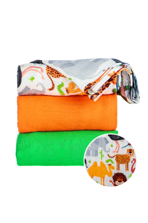 Safari - Tula Baby Blanket Set
