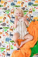 Safari Green - Tula Baby Blanket