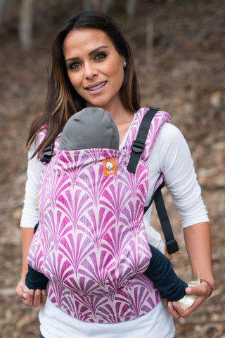 (Standard Size) Full Wrap Conversion Tula Baby Carrier - Tula Splendor Blush - Baby Tula