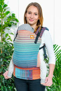 Half Standard WC Carrier - Burn Bright Sierra Brown Weft 2 - Baby Tula