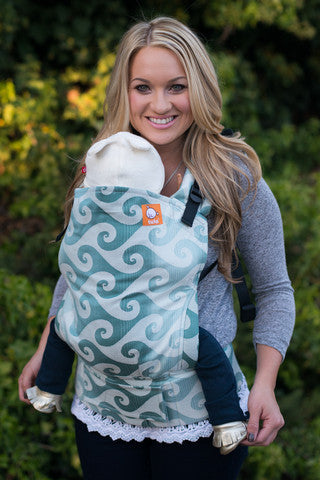 (Standard Size) Full Wrap Conversion Tula Baby Carrier - Tula Surf Malibu - Baby Tula