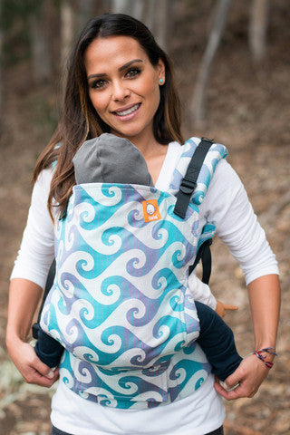 (Standard Size) Full Wrap Conversion Tula Baby Carrier - Tula Surf Pipeline - Baby Tula