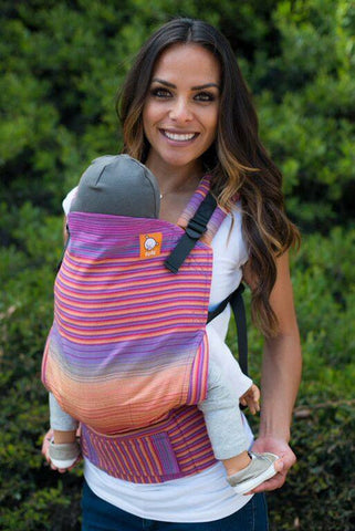 (Standard Size) Full Wrap Conversion Tula Baby Carrier - Tula Taffy Summer - Baby Tula