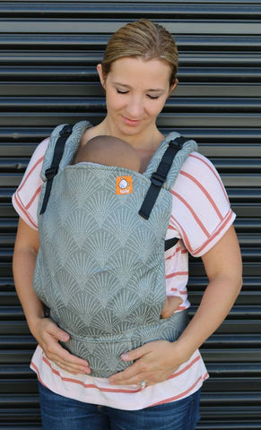 (Standard Size) Full Wrap Conversion Tula Baby Carrier - Lexington Boulder - Baby Tula