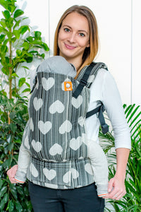 Full Standard Wrap Conversion Carrier - Love Asteria - Baby Tula