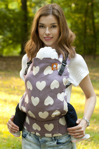 (Standard Size) Full Wrap Conversion Tula Baby Carrier - Tula Love Chic 1 - Baby Tula