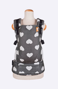 Full Toddler Wrap Conversion Carrier - Tula Love Noirish - Baby Tula