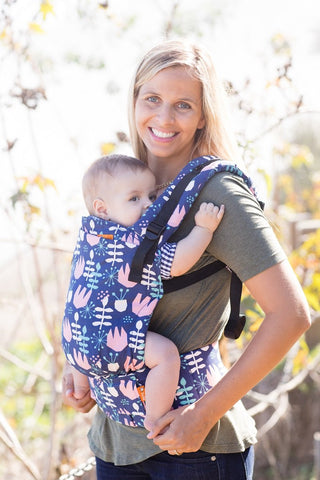 Twilight Tulip - Tula Free-to-Grow Baby Carrier - Baby Tula