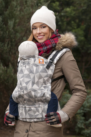 Full Toddler WC Carrier - Vertices Storm - Baby Tula