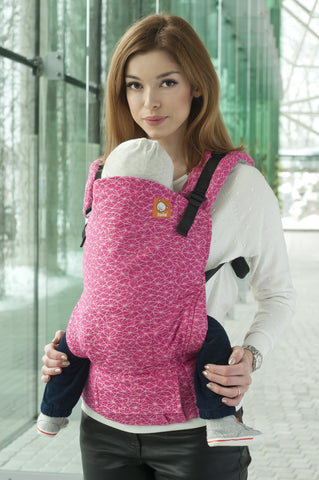 Half Toddler WC Carrier - Galaxia Glow - Baby Tula