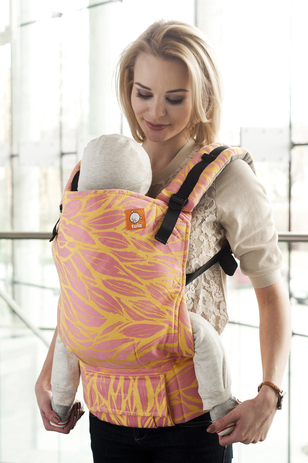 Half Toddler WC Carrier - Haizea Rebel - Baby Tula