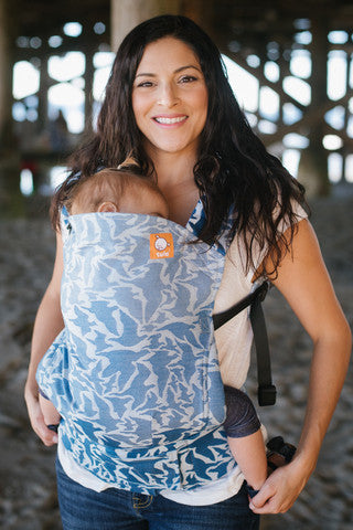(Standard Size) Full Wrap Conversion Tula Baby Carrier - TULA Voyage Adelaide - Baby Tula