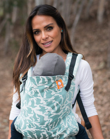 (Standard Size) Full Wrap Conversion Tula Baby Carrier -  TULA Voyage Iceland - Baby Tula