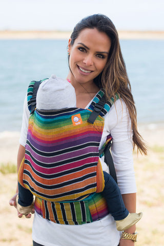 (Standard Size) Full Wrap Conversion Tula Baby Carrier - Waimea Cuervo 2 - Baby Tula