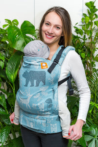 Full Standard Wrap Conversion Carrier - Woodland Nile - Baby Tula