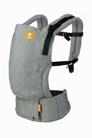 Ash - Tula Linen Free-to-Grow Baby Carrier