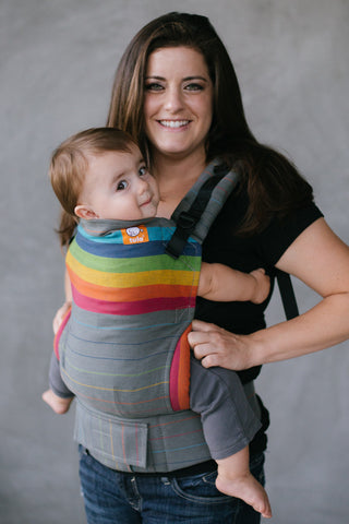 (Standard Size) Full Wrap Conversion Tula Baby Carrier - Girasol Brite Medio - Baby Tula