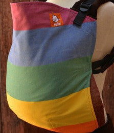(Standard size) Semi Wrap Conversion Tula Baby Carrier - Easycare Rainbow - Baby Tula