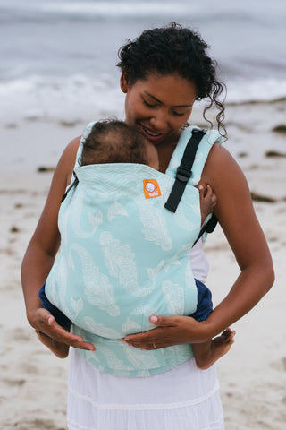 (Standard Size) Full Wrap Conversion Tula Baby Carrier - Tula Naida Chromis - Baby Tula