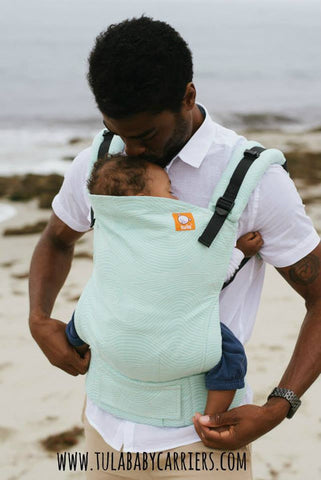 (Standard Size) Full Wrap Conversion Tula Baby Carrier - Tula The Wave - Baby Tula