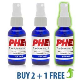 PherX for Men (Attract Women) 3-Pack