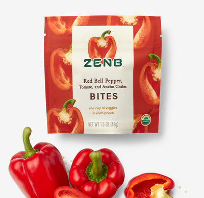 Red Bell Pepper Veggie Bites