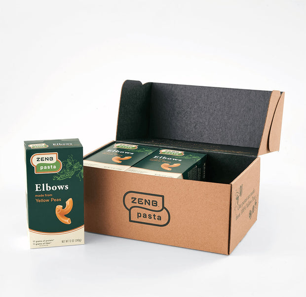 ZENB Elbows Pasta | Box of 6