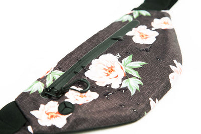 Active Fanny Pack Rose Black
